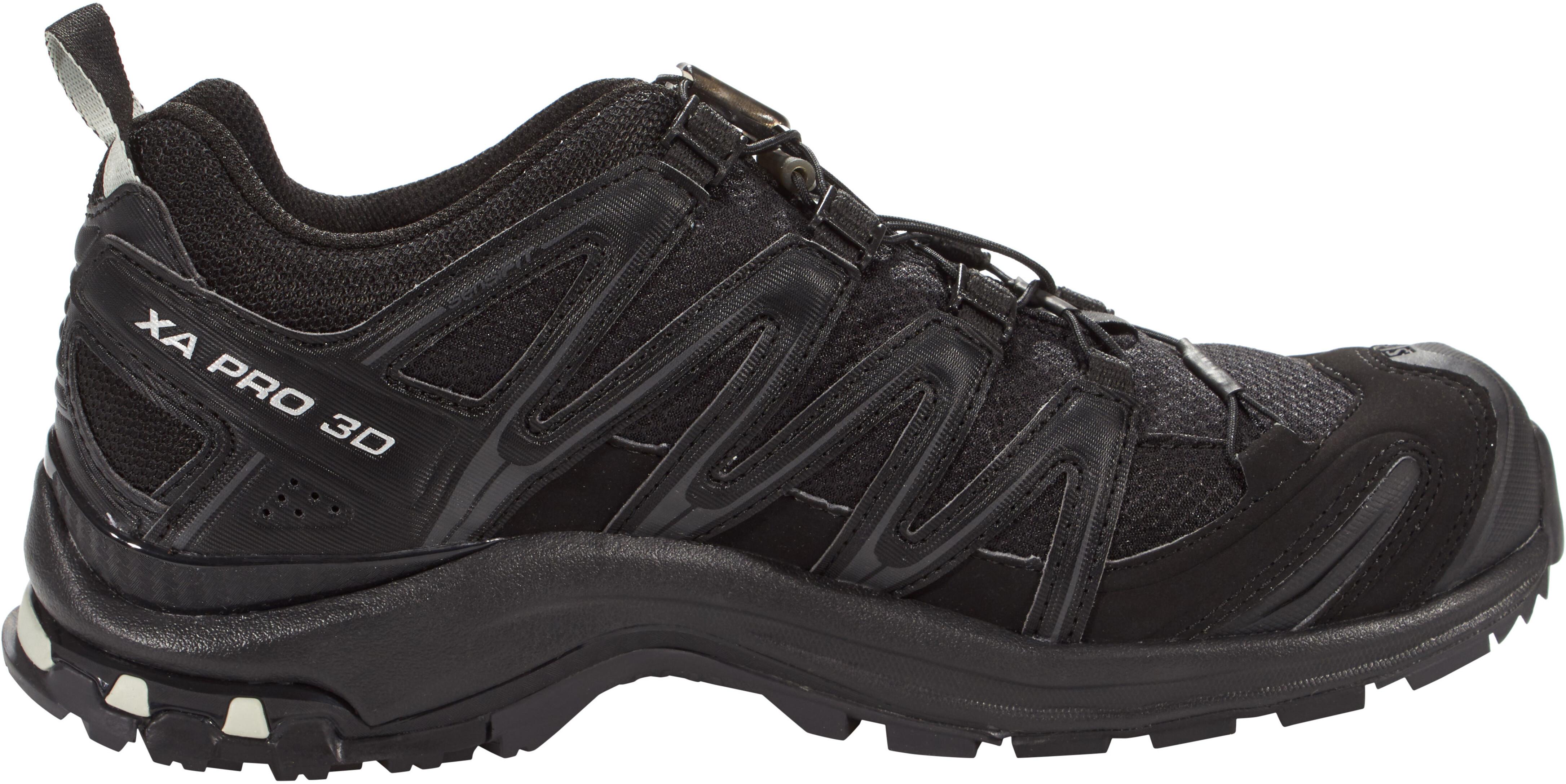 a5942f02ef7 Salomon XA Pro 3D GTX Hardloopschoenen Dames, black/black/mineral grey